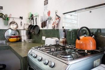 Minca Casa Maracuya close view to kitchen