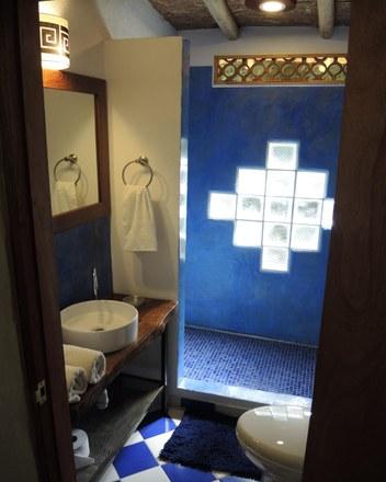 Minca Finca Hostal Bolivar bathroom
