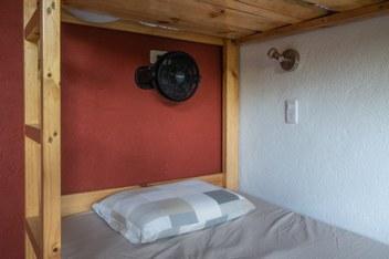 Minca Finca Bolivar Casa Mango dorm bed