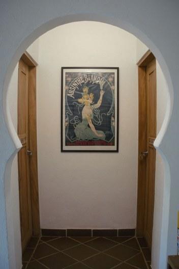 Finca Hostal Bolivar - Entrance private rooms