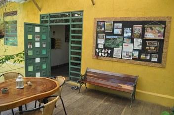 Finca Hostal Bolivar - information board