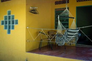 Minca Finca Hostal bolivar terrace  colibri