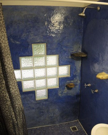 Minca Finca Hostal Bolivar Casa Maracuya shower