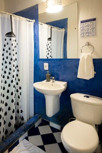 Minca toilet dorm Finca Bolivar Casa maracuya