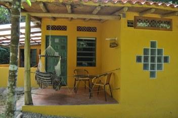 Minca Finca Hostal Bolivar terrace Uacari